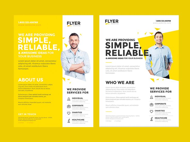 design professional business flyer and brochure by peniel designs