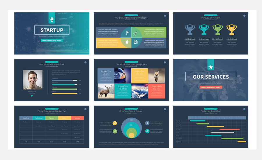design an outstanding powerpoint presentation by greatthinker09