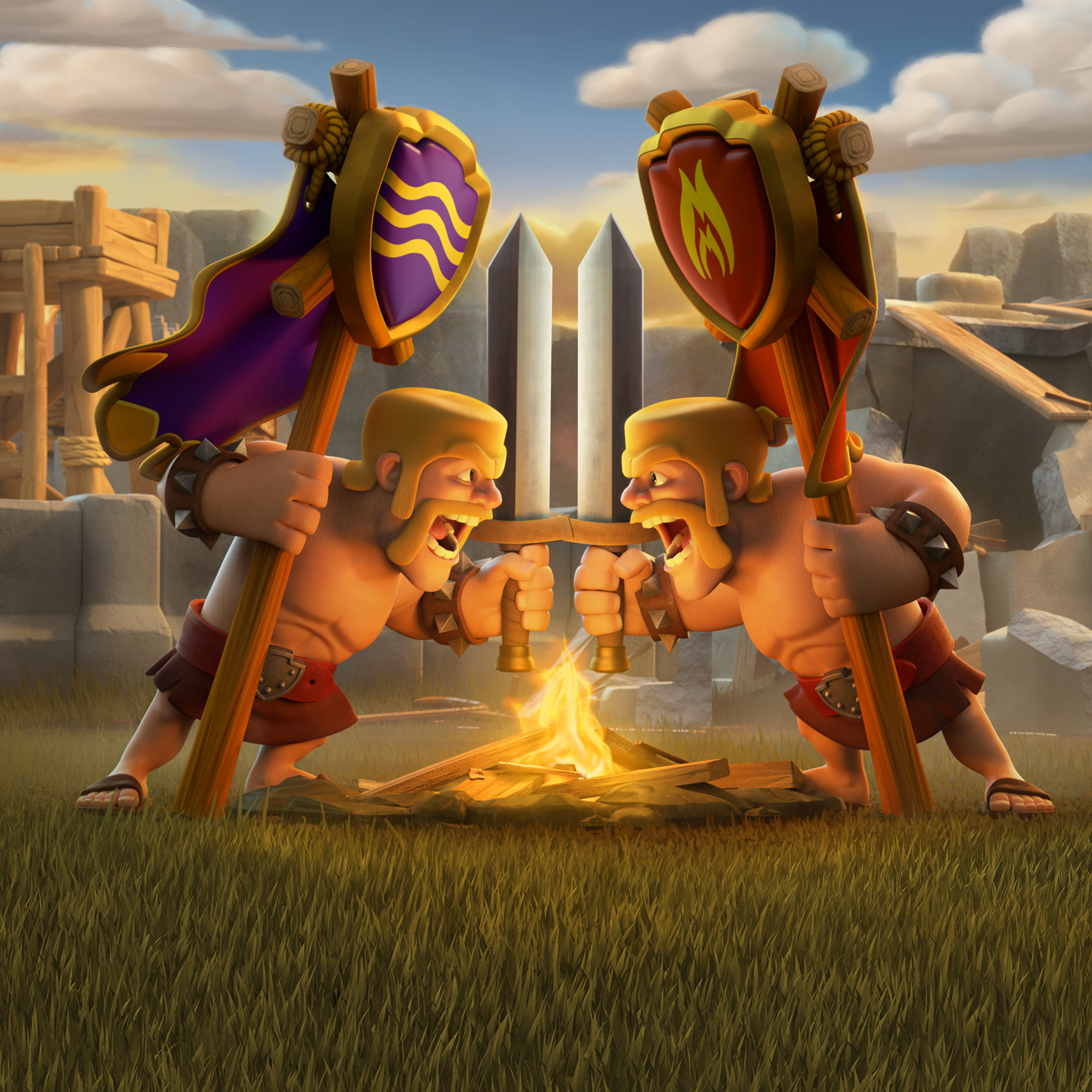help you to get strong in clash of clans by rahulraj355