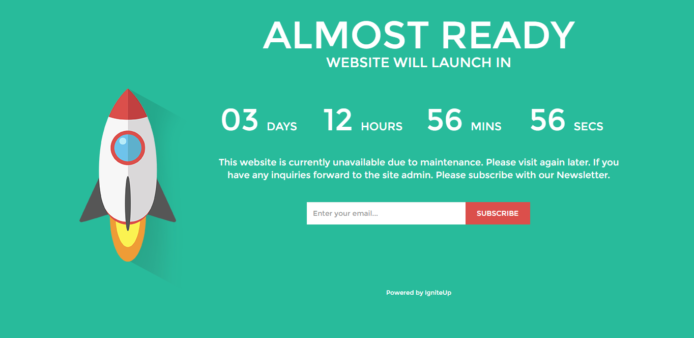 This Website Is Currently Unavailable Design A Wordpress Coming Soon Page By Smbmunna256