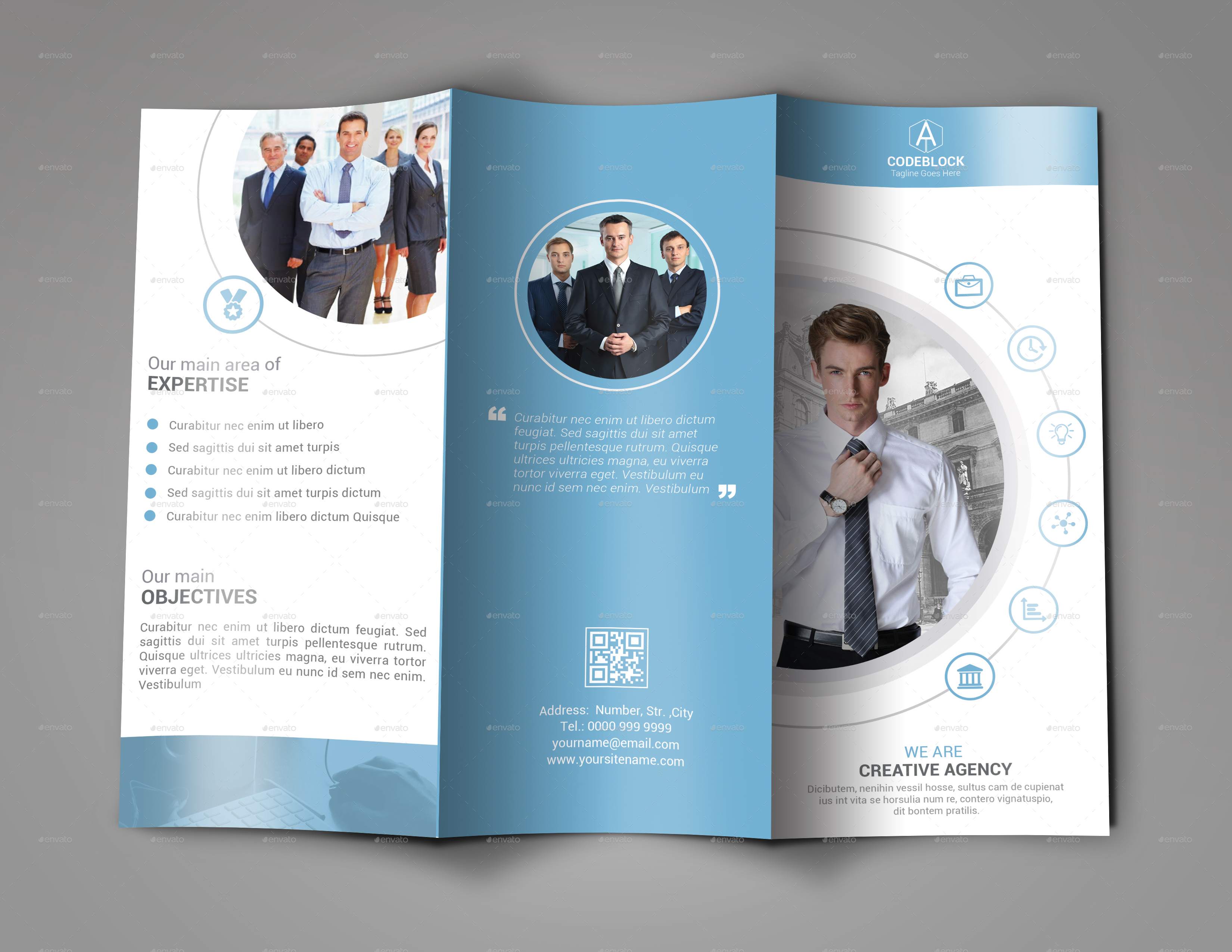 design your professional tri fold brochure by alexanderlex448