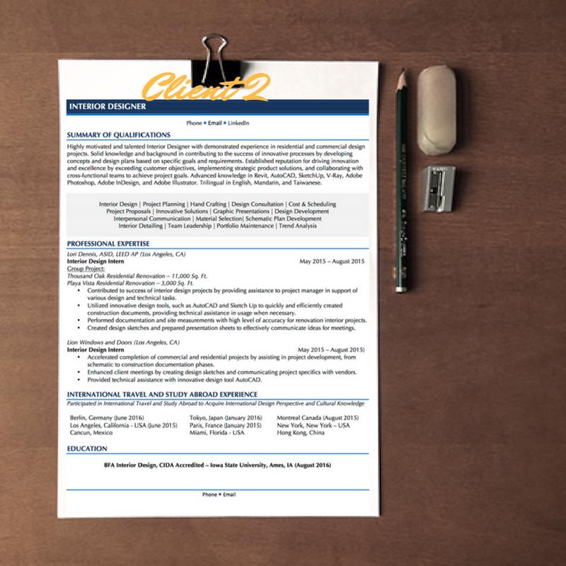 create a resume cover letter linkedin profile