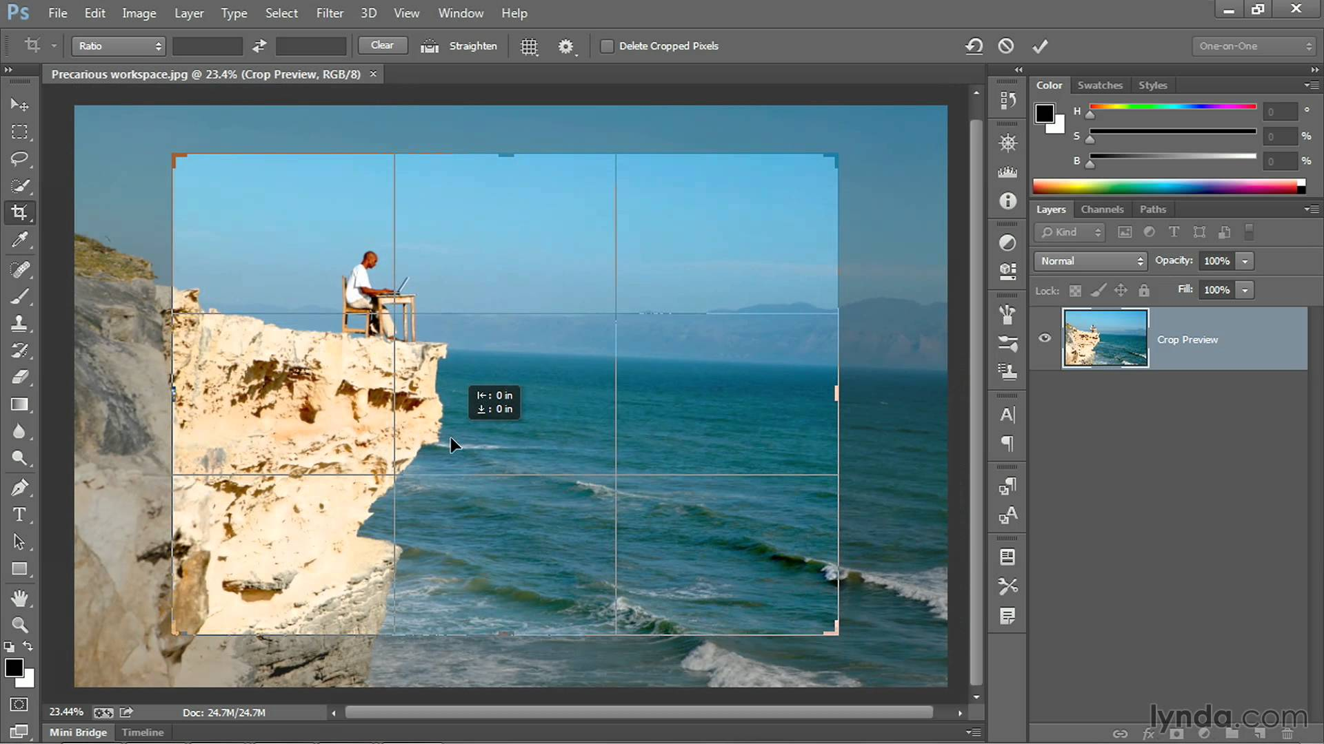 How to Crop in Photoshop: Cropping for Print