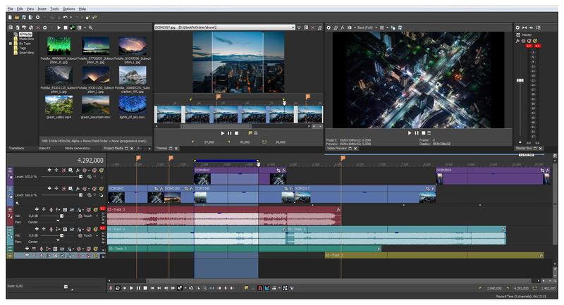 Magix Sony Vegas Pro 16 Full Crack - N2 Media Software
