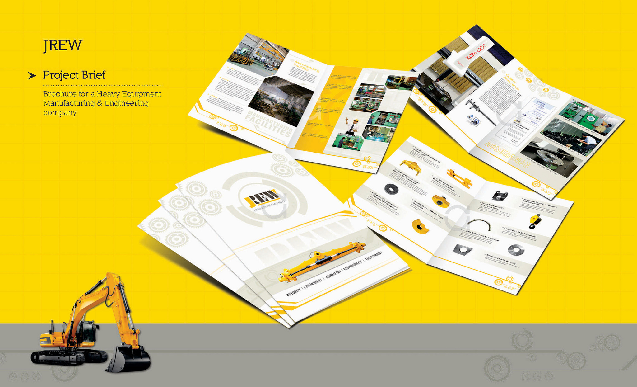 flyer brochure booklet catalog design fiverr