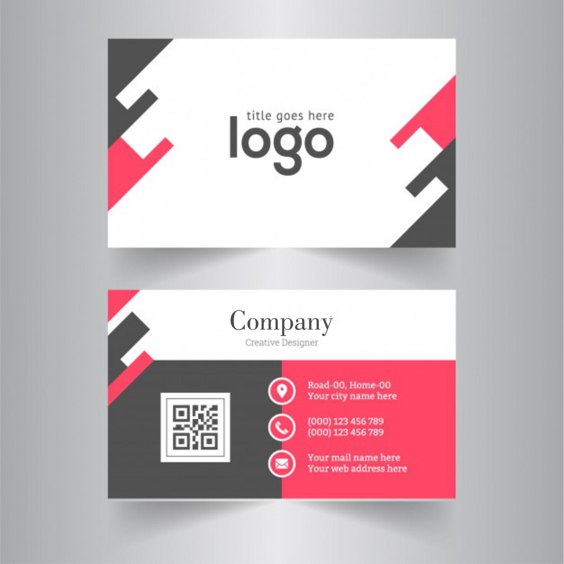 Design very catchy and unique business card with qr code by design very catchy and unique business card with qr code by shawaizhassan colourmoves