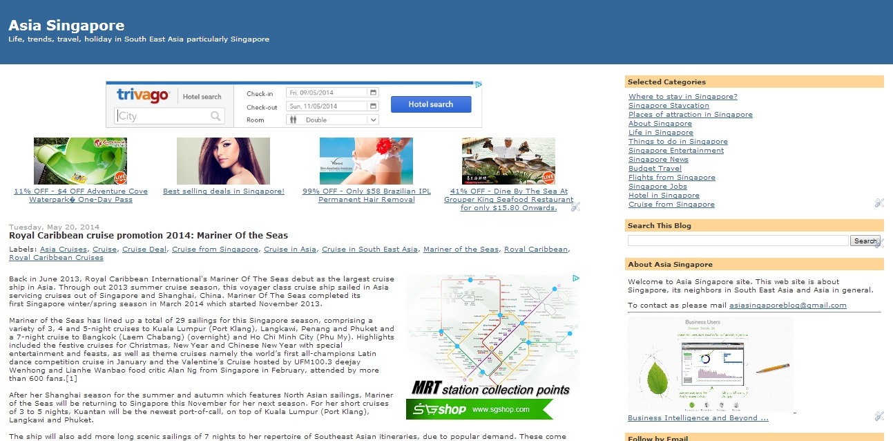 guest post on my Singapore blog | Fiverr