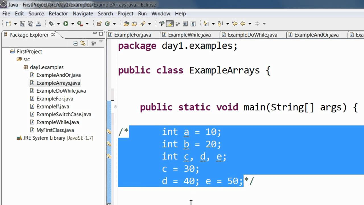 Java tutorial | learn java programming youtube.