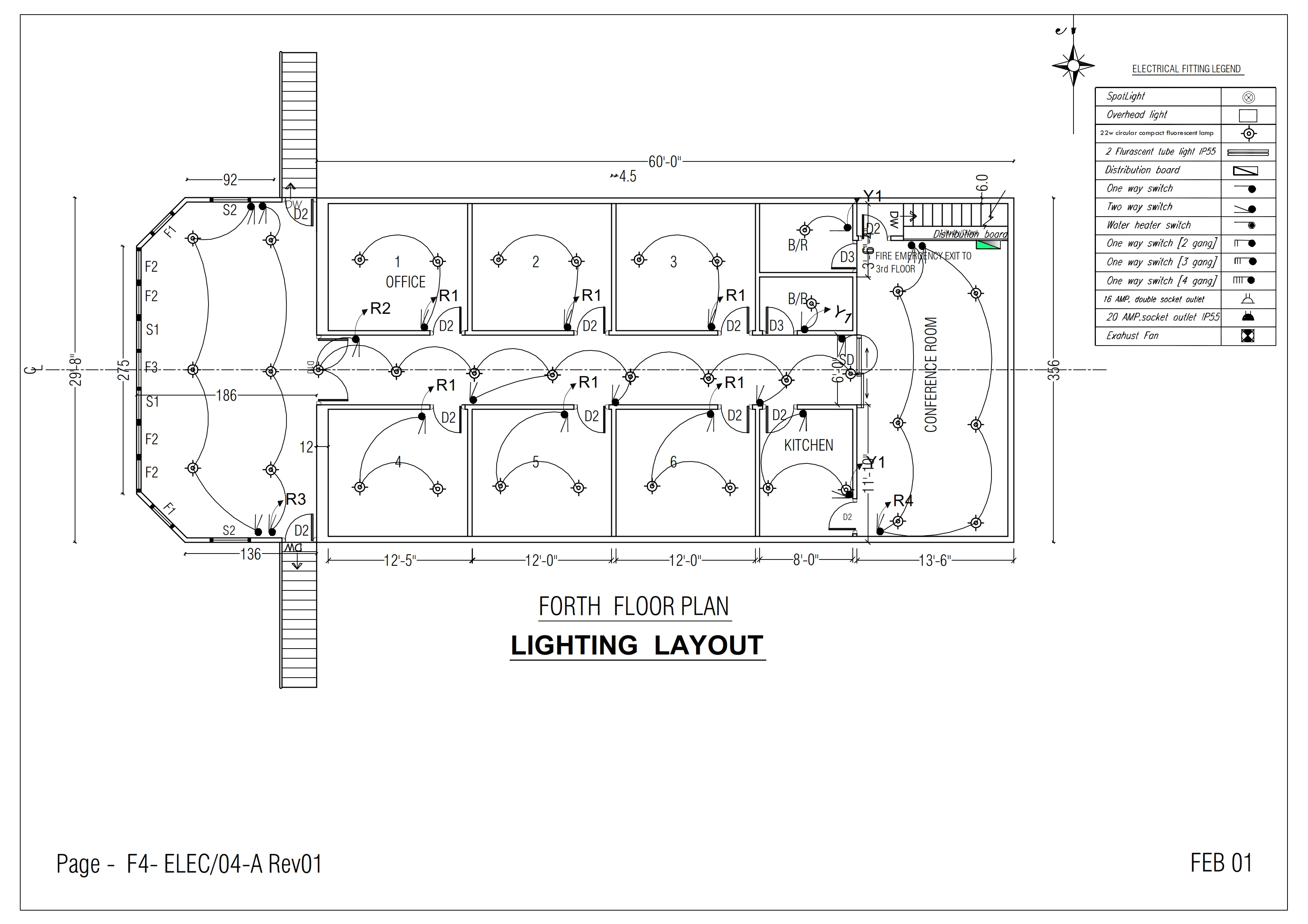 Draw Electricalplumbing Drawings By Amil077 2 Way Switch One