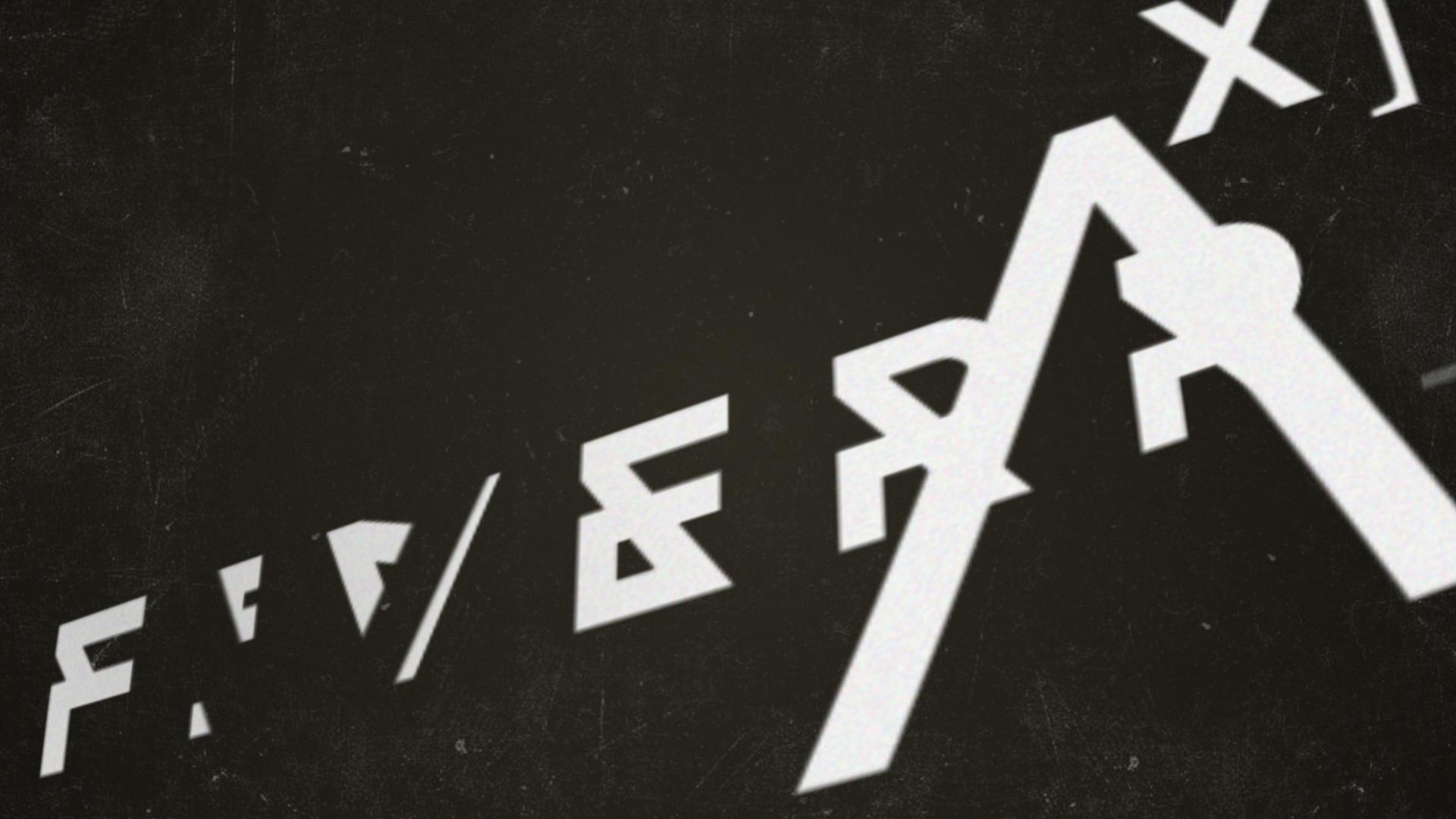 Glitch Text Decoder Intro Video Bumper By Room 4 Background Music