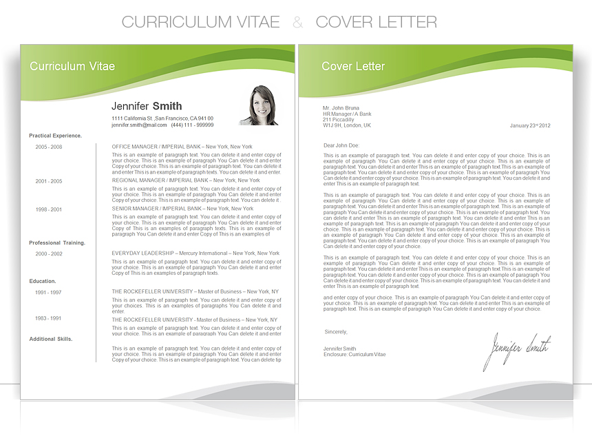 create curriculum vitae resume or cover letter by tataresume
