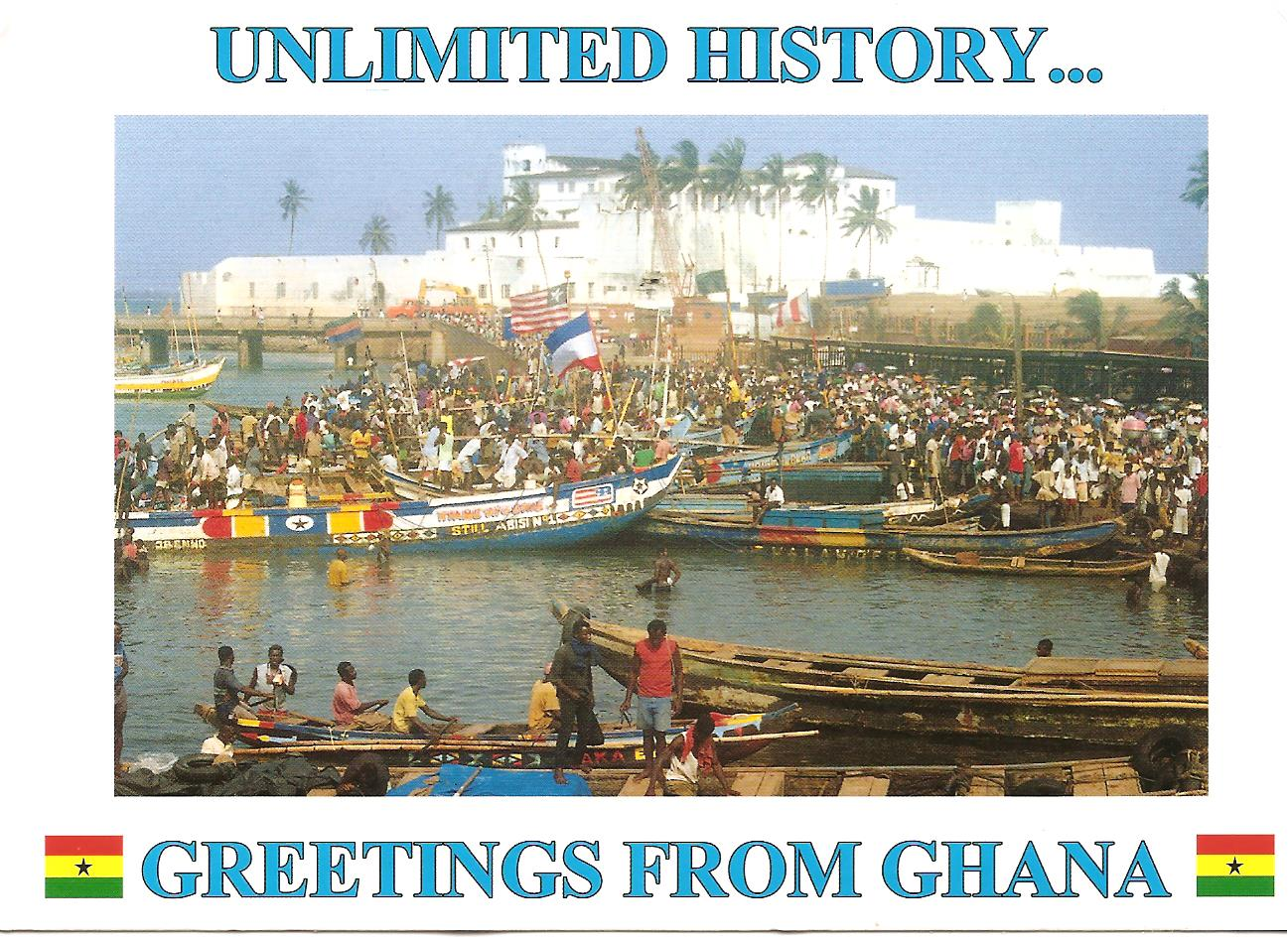 Send A Nice Postcard From Ghana To Any Address In The World By