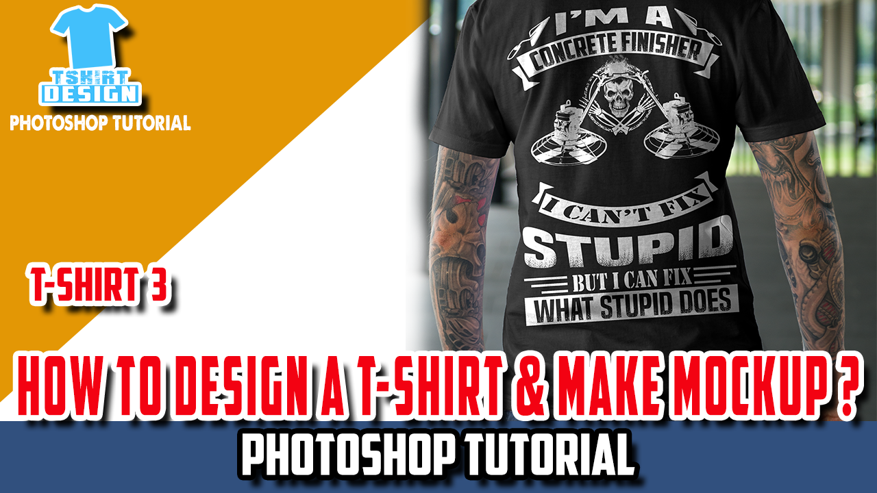 T Shirt Designs Photoshop Tutorial Bcd Tofu House