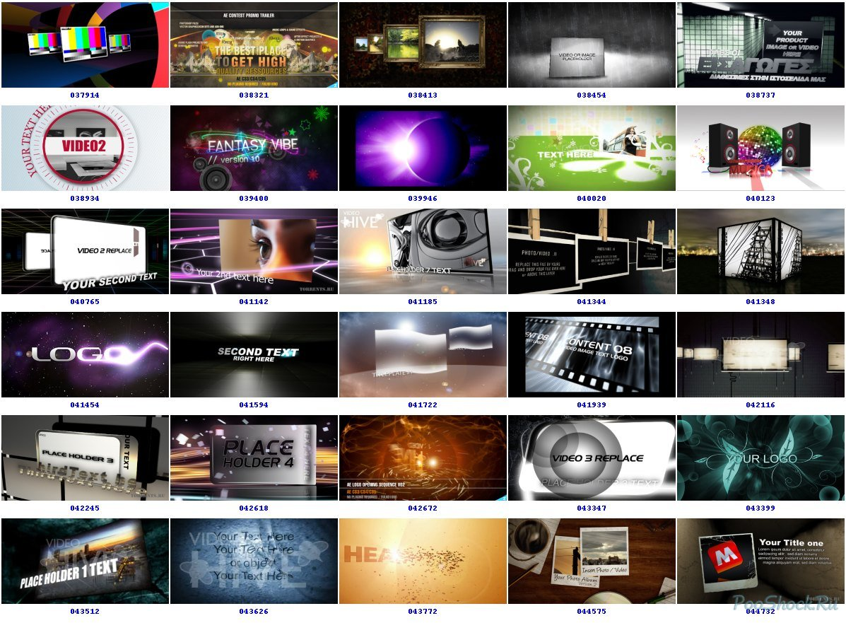 edit any after effects template from videohive by thedesigner1234