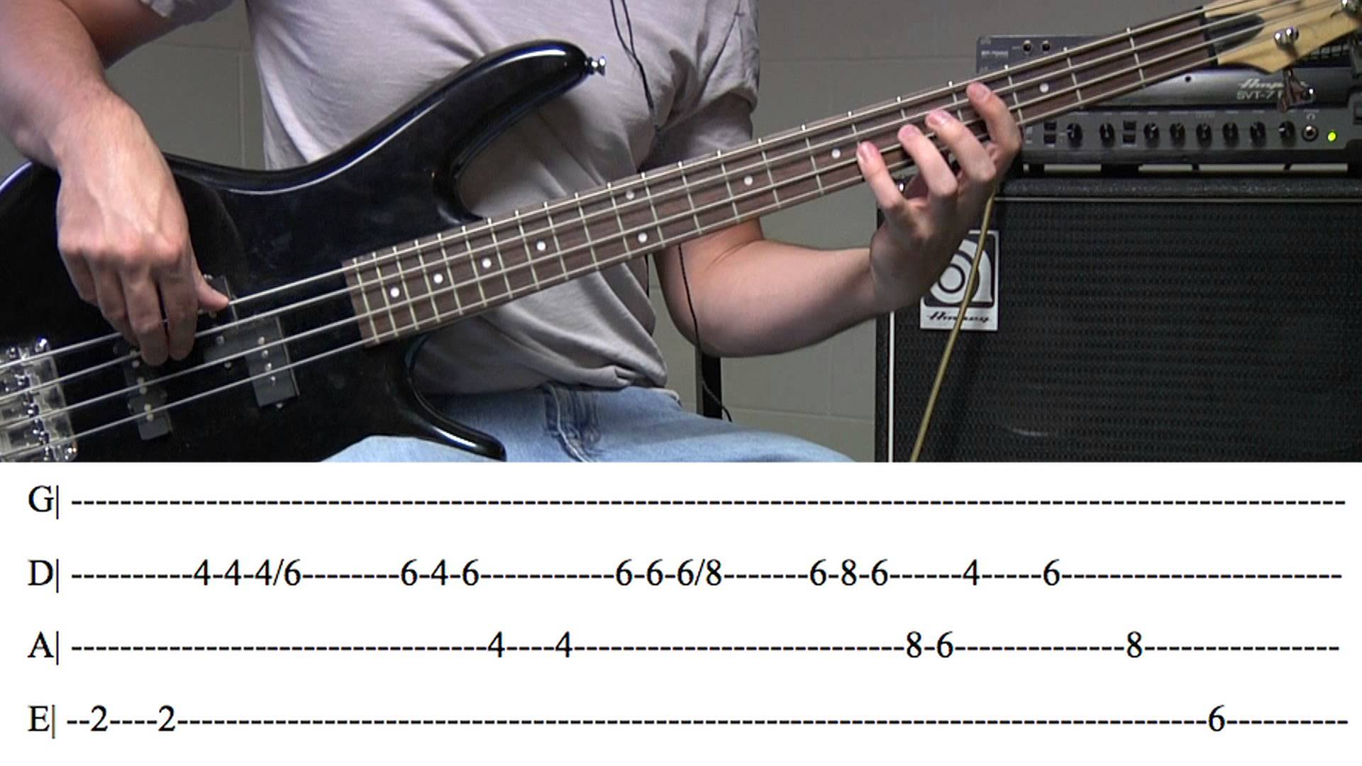 Write Professional Bass Tabs By L562ucian