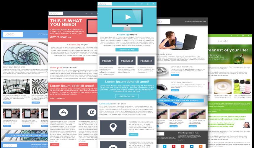 Design responsive html email template by mdmonir35 spiritdancerdesigns Images