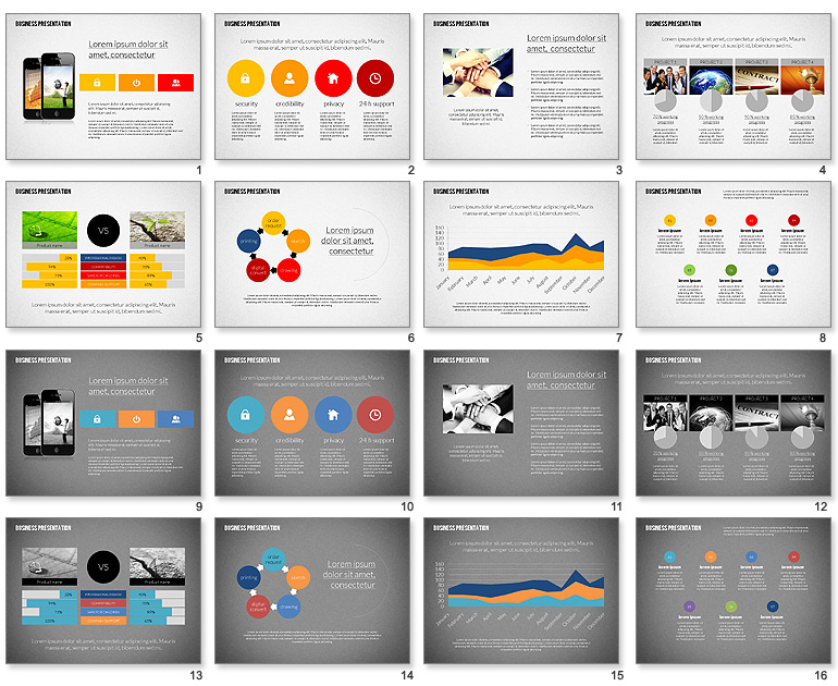 design an effective and modern powerpoint presentation by ahemarketer