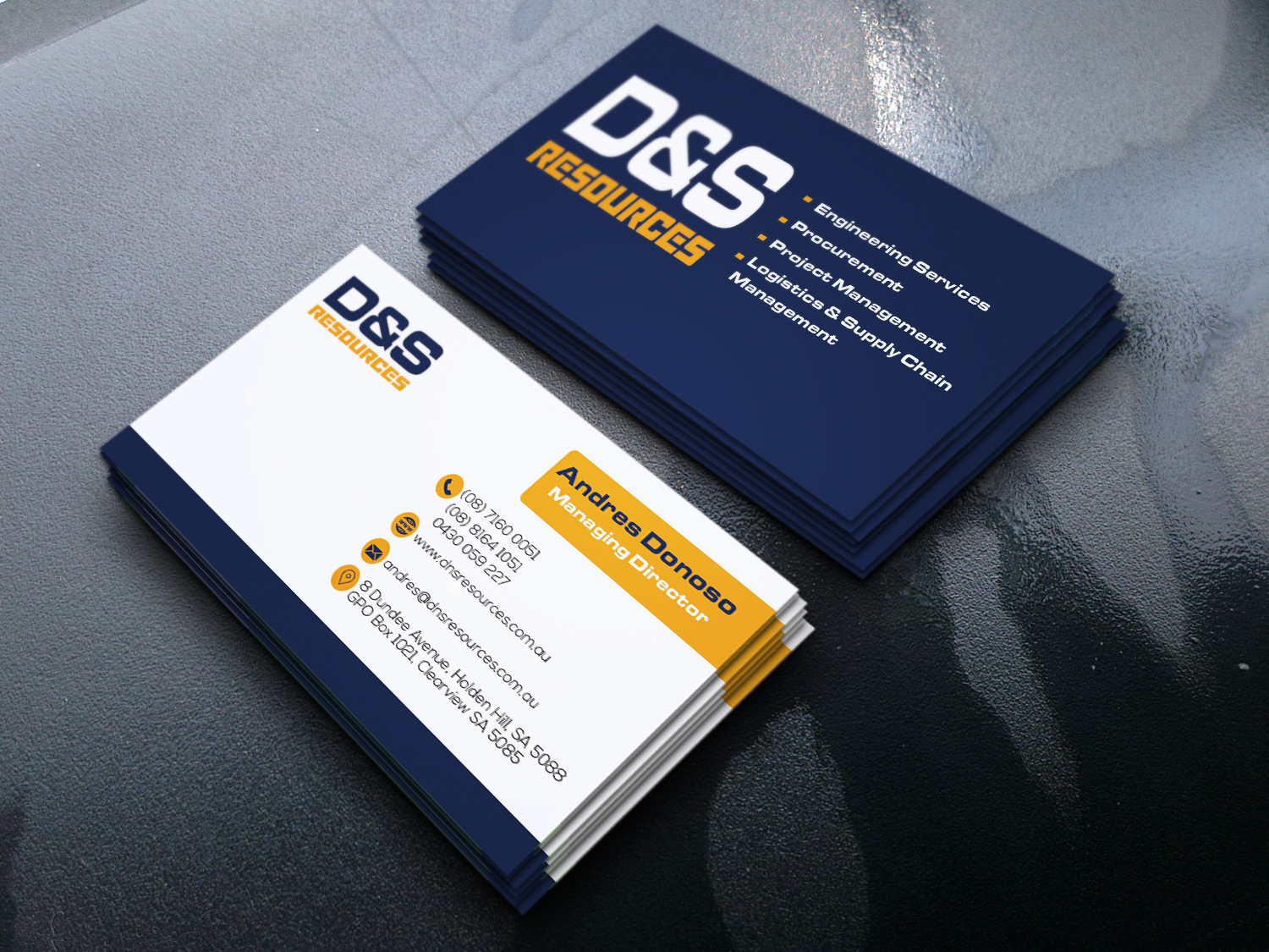 Created unique business card by afsarnazim32 reheart Gallery