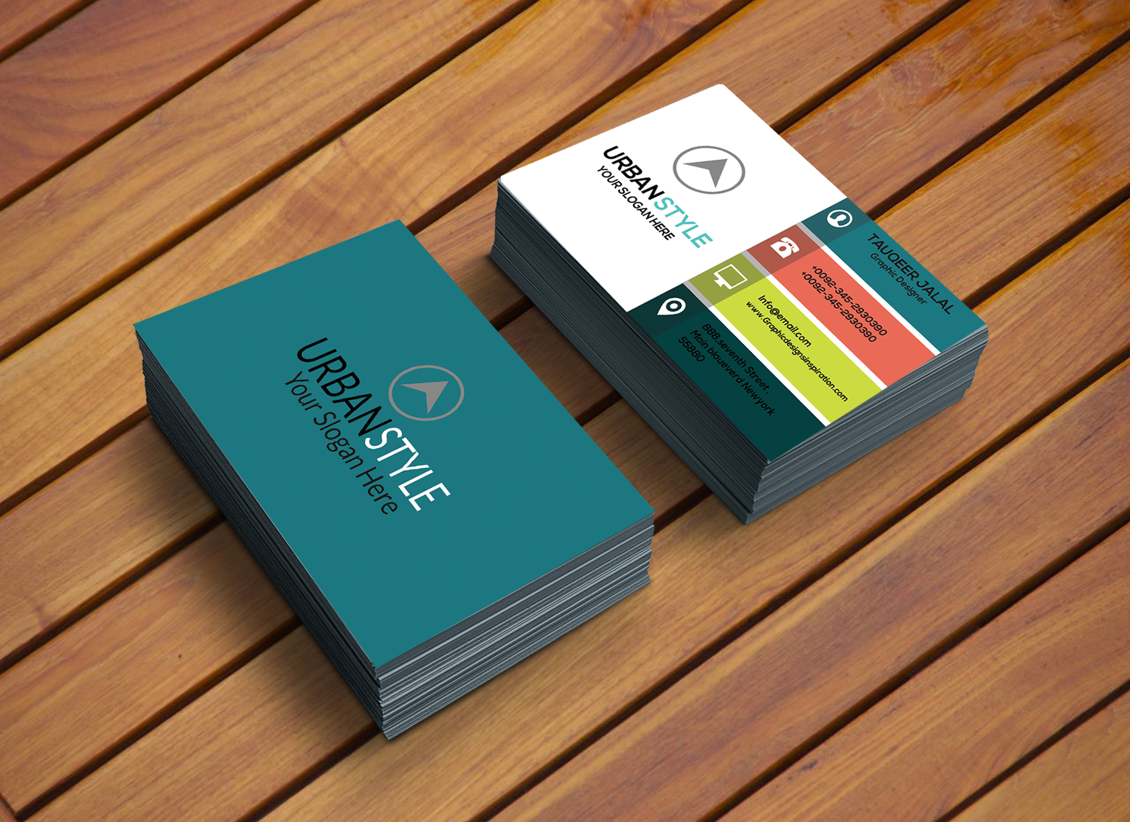 do business card design within 24 hours by sregepdw