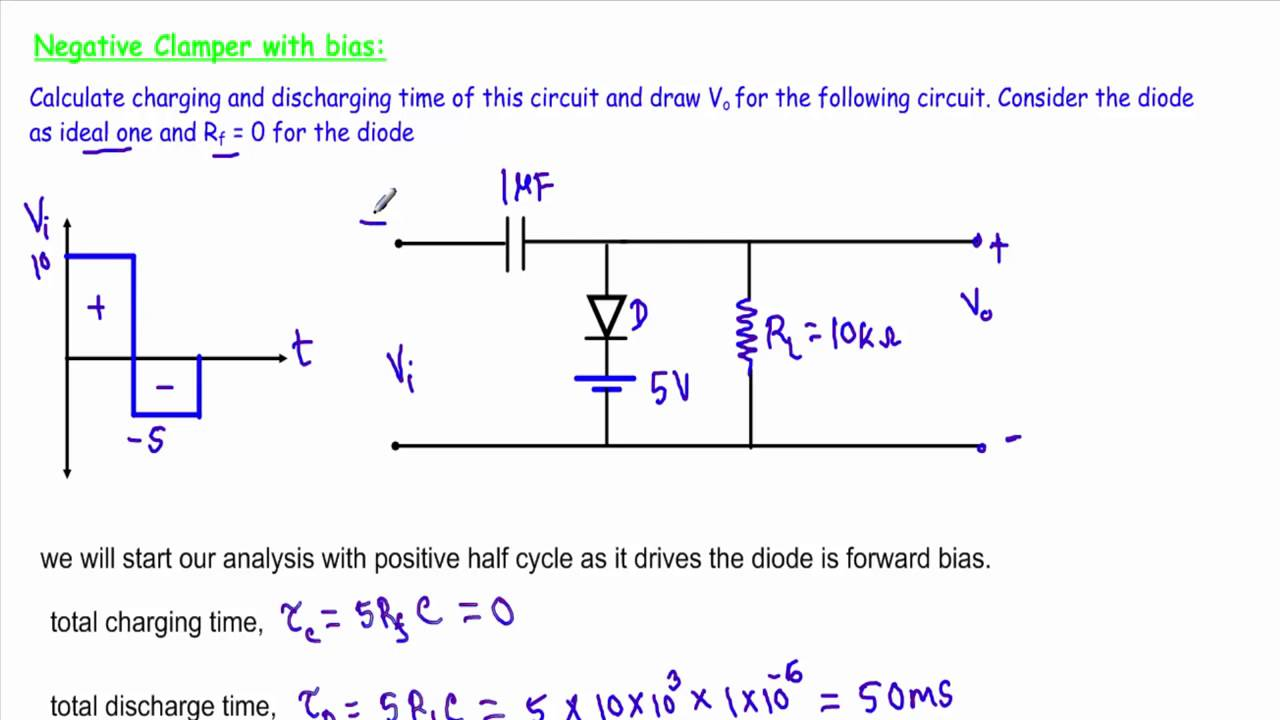 Help You In Electrical Circuit Analysissemiconductor Devices By Clippers An Overview Of Clipping Circuits Electronic Aliraza2925