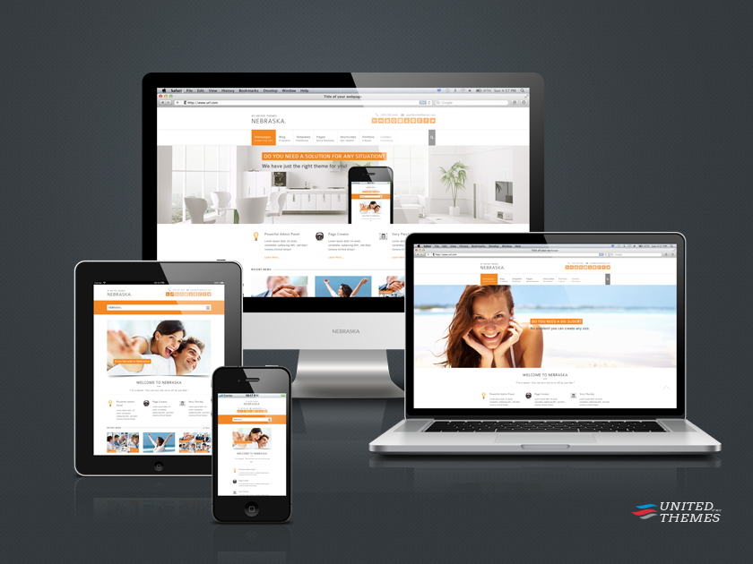 Give you premium wordpress theme by Siegercreations