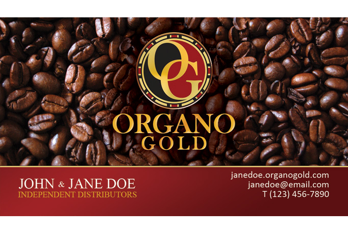 Design your organo gold business card by banks305 colourmoves