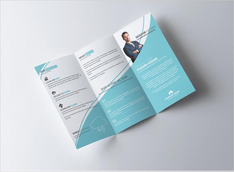 Three Fold Flyer Template Choice Image Template Design Free Download