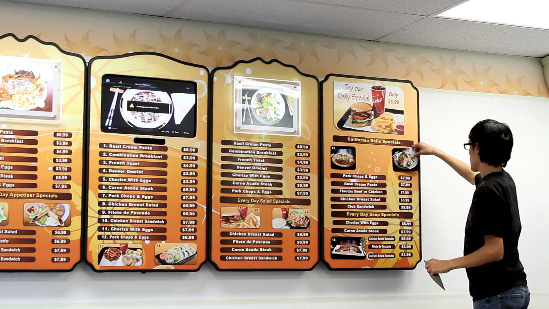 design stylish, professional restaurant menu by fikayor