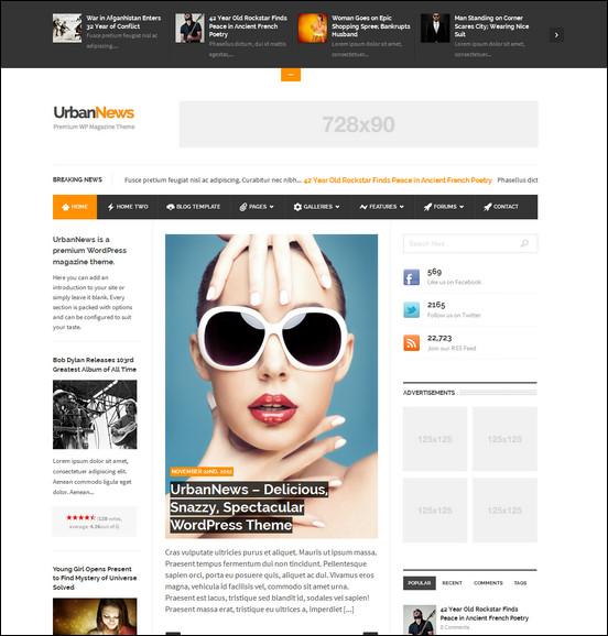 Urban news websites