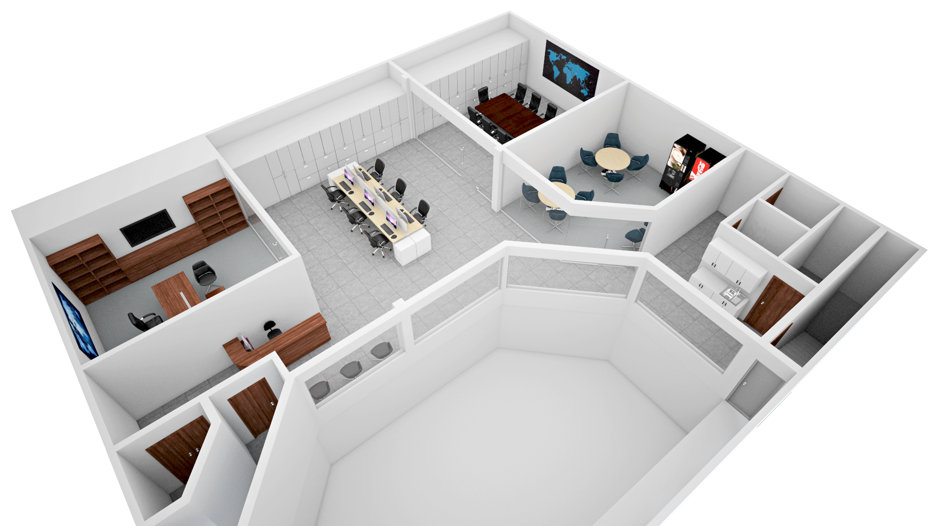 3D Floor Plan   Fiverr