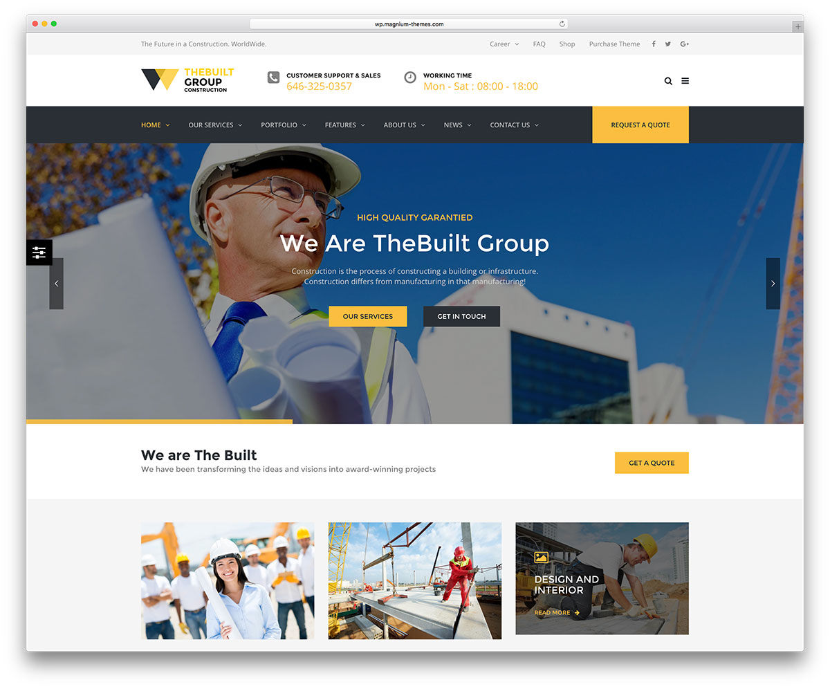 Create your contractor website by Jtsforbusiness