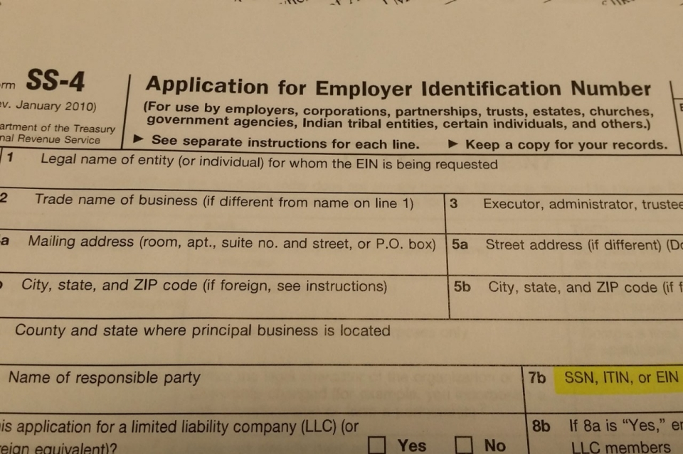 Apply For Your Employer Id Number Federal Tax Id With The Irs By