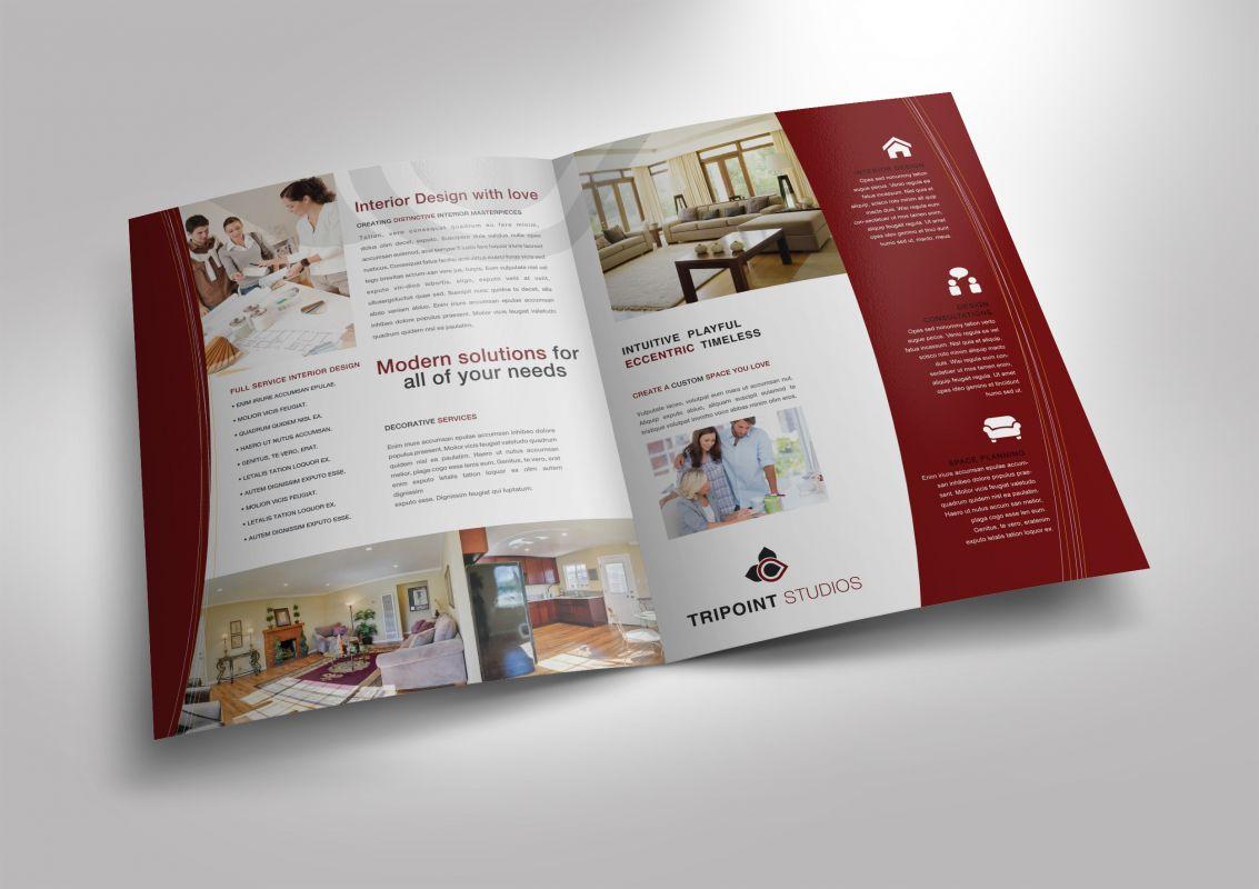 design half fold brochure by ramzanpirzada