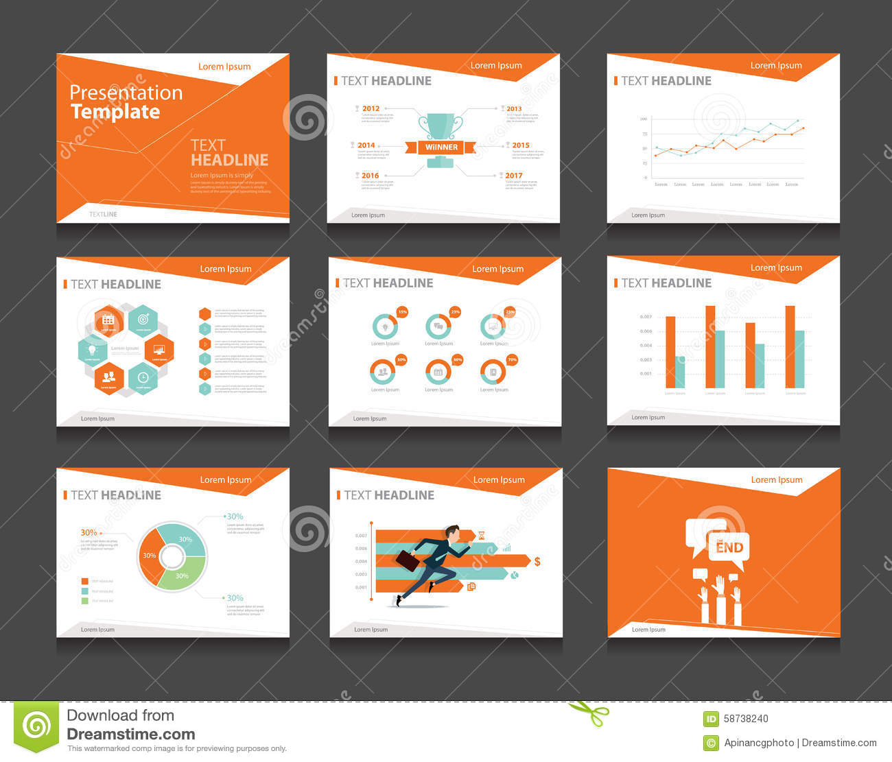 design professional presentation for your business needs by yusrafahads