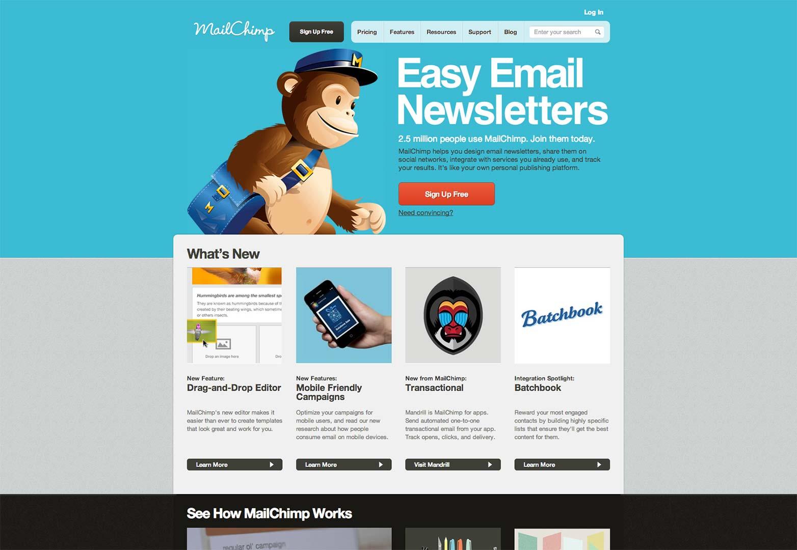 Newsletter Mailchimp Template