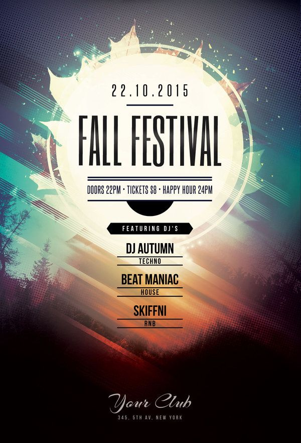 design amazing events flyer for you by raulbrother
