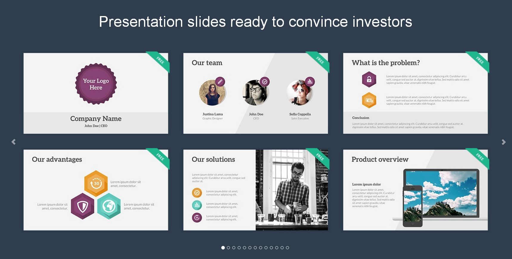 create convincing pitch deck and business presentation by hamzarasool17