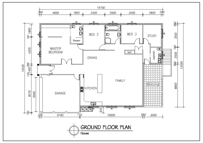 Design Professional 2d Architectural Floor Plan By Abdullahabbasii