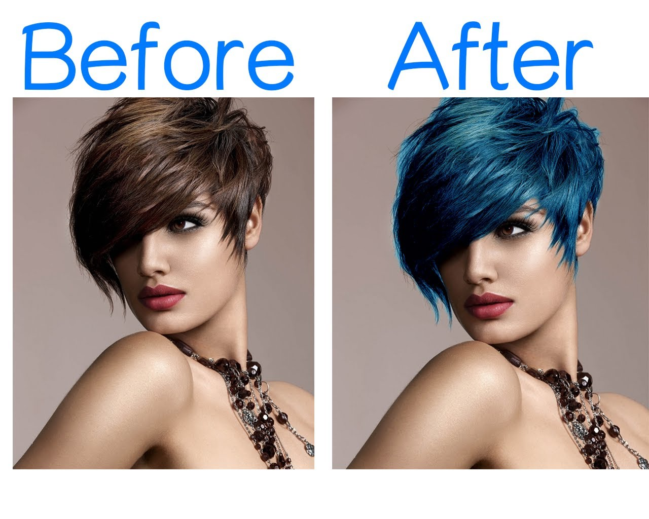 Change Your Hair Colour In Photoshop By Wassikazemi