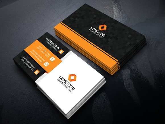 Do modern professional business card design by logostudiox colourmoves