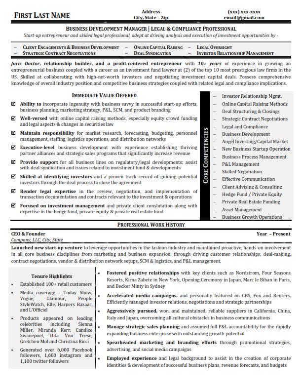 Write Rewrite Job Winning Executive Resume Cv Resume Writer