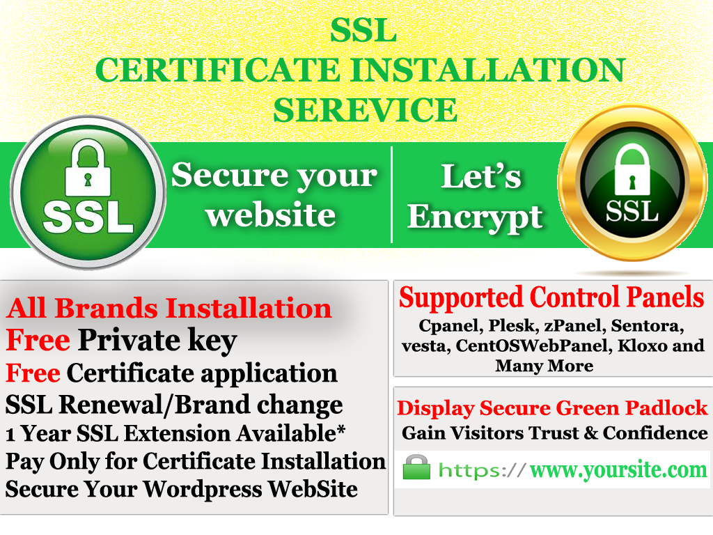Setup Free Encrypt Ssl Certificate On Your Website By Shipon5