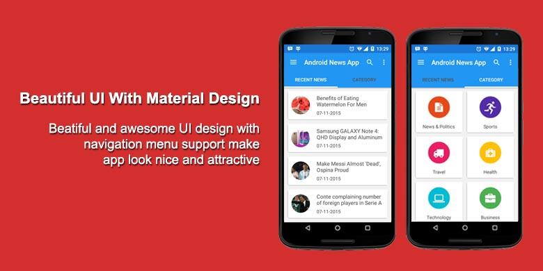 Imágenes de Android News App Source Code Free Download