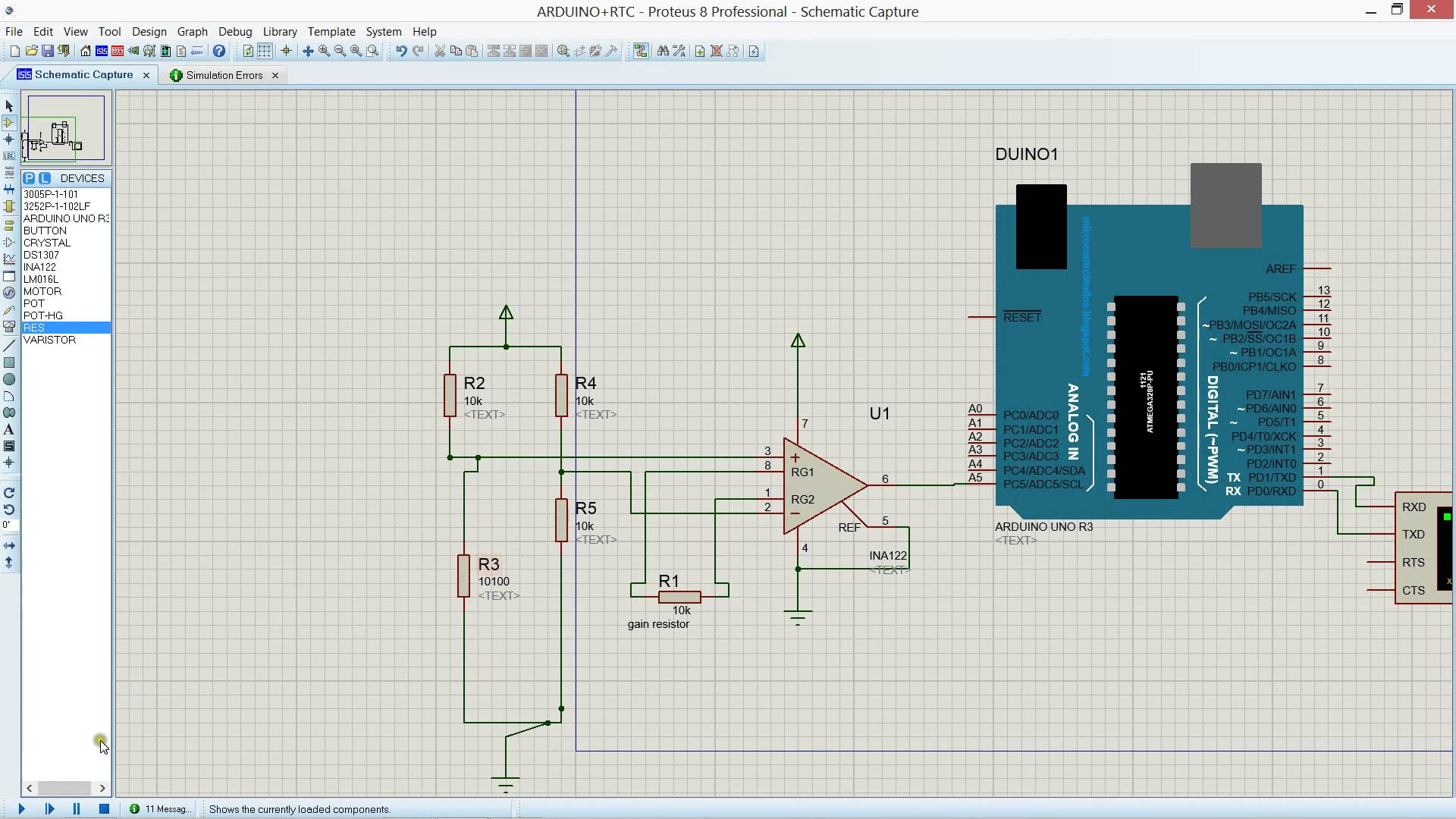 Do Simulation Project In Proteus And Ni Multisim By Abrar01113005 Circuit Software Free