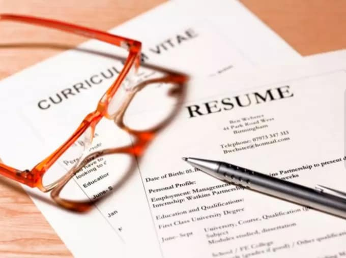 cover letters and resumes