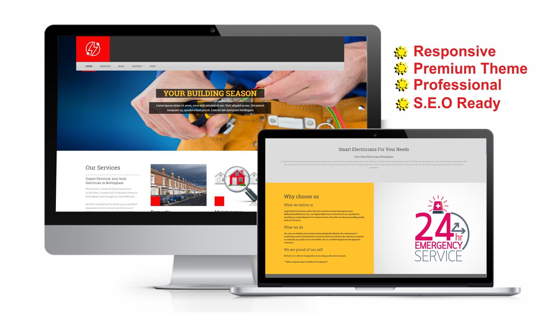 Create Professional Word Press Website By Ukprinters Commercial Wiring Jobs