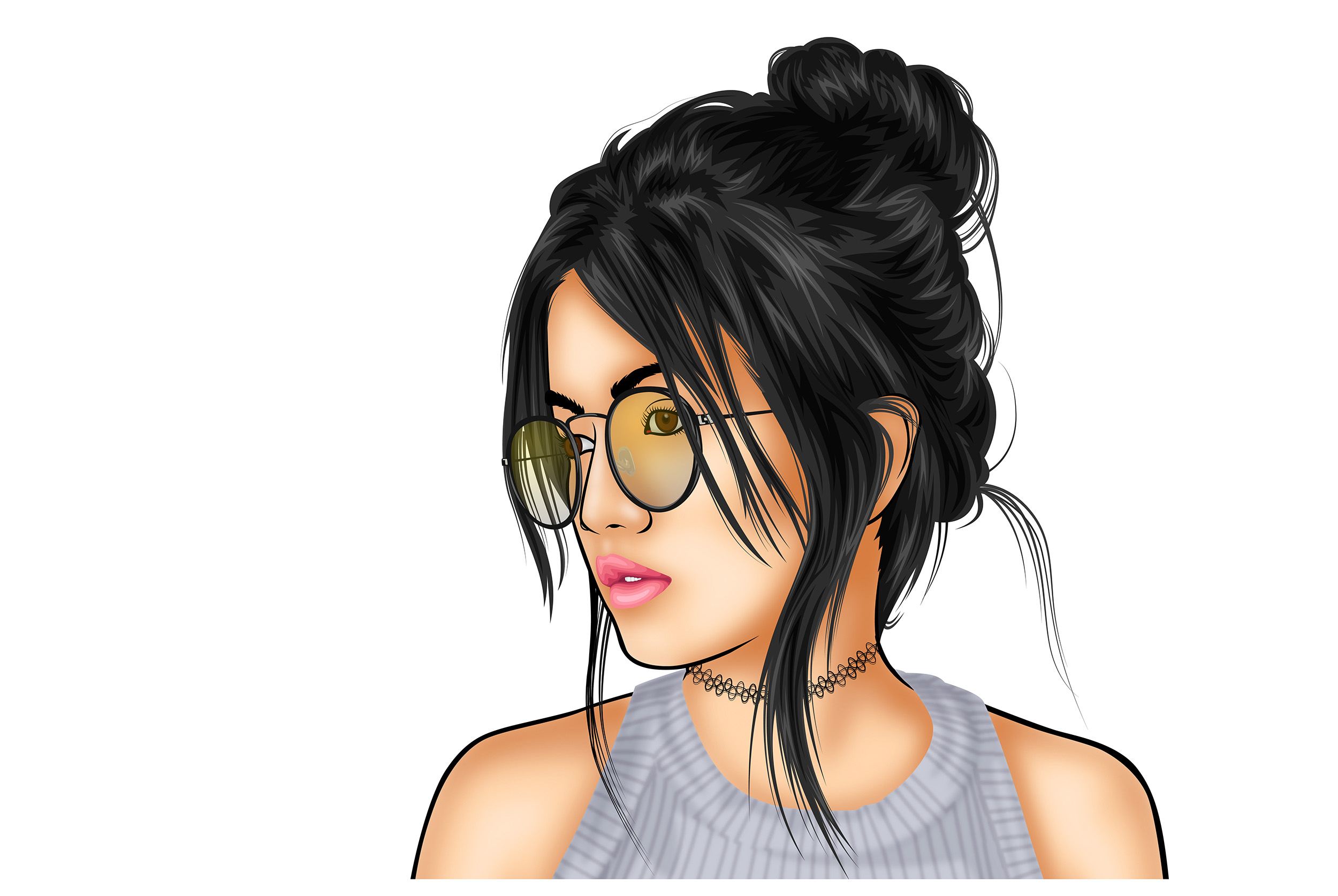 Draw Vector Cartoon Portrait From Your Photo By Autodidactme