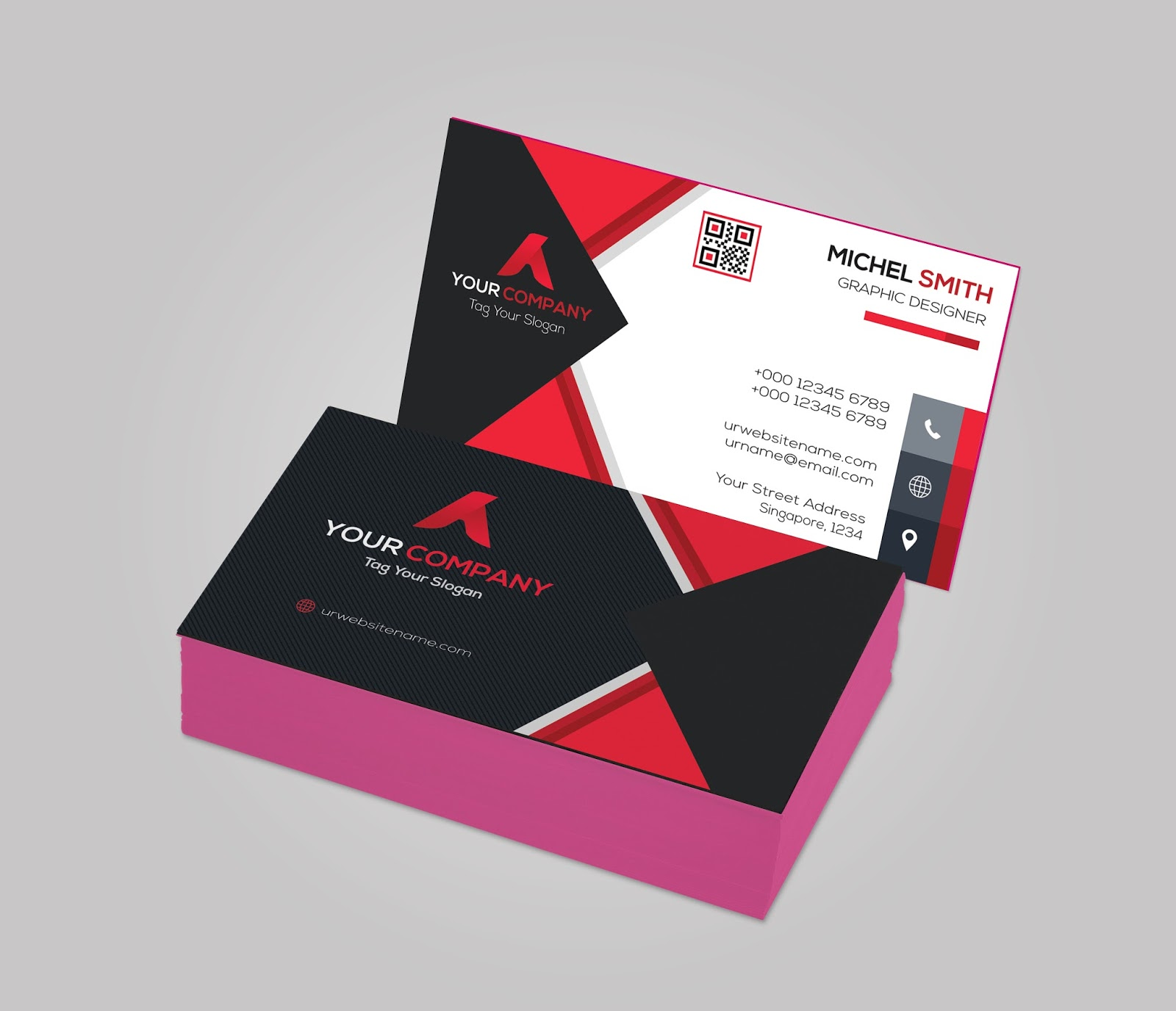Design awesome business cards and stationery by devwasim reheart Choice Image