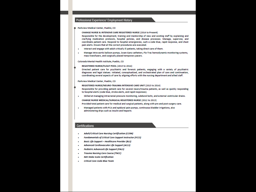 Rewrite And Enhance Your Resume By Riabsi