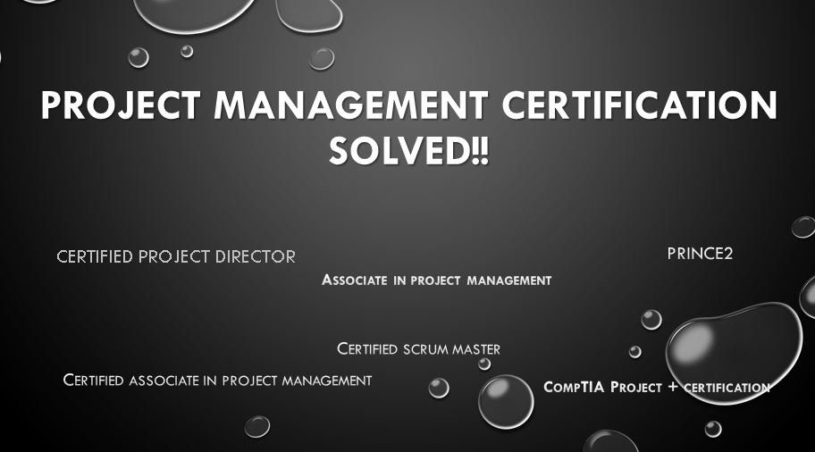 Prepare You For Any Project Management Certification By Plusacademics